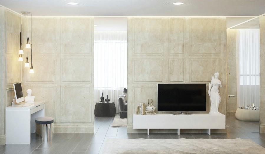 Design - interior - living - modern - de - lux.