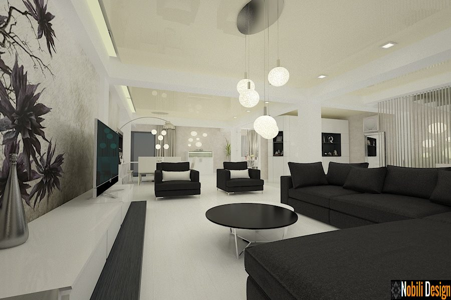 Design - interior - living - modern - preturi.