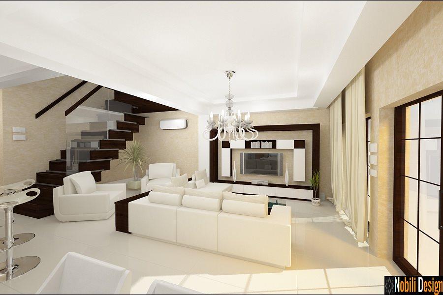 Design interioare living case vile moderne nobili for Case moderne design