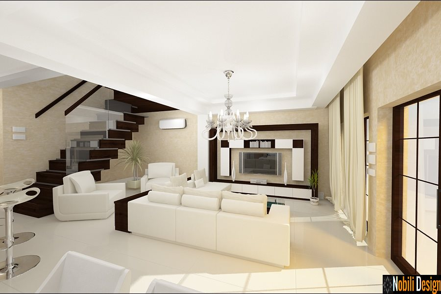 Design - interior - living - vila - brasov