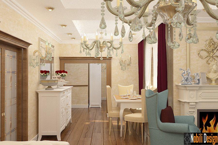design interior living vila clasica bucuresti