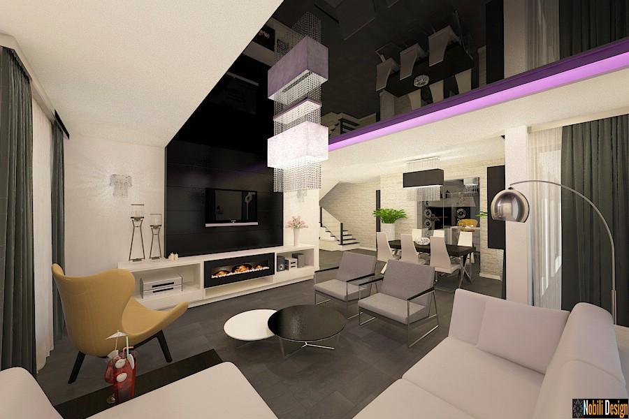 Design - interior - living - vila - in - Bucuresti| Amenajare - interioara - living - de - lux - casa - in - Bucuresti.