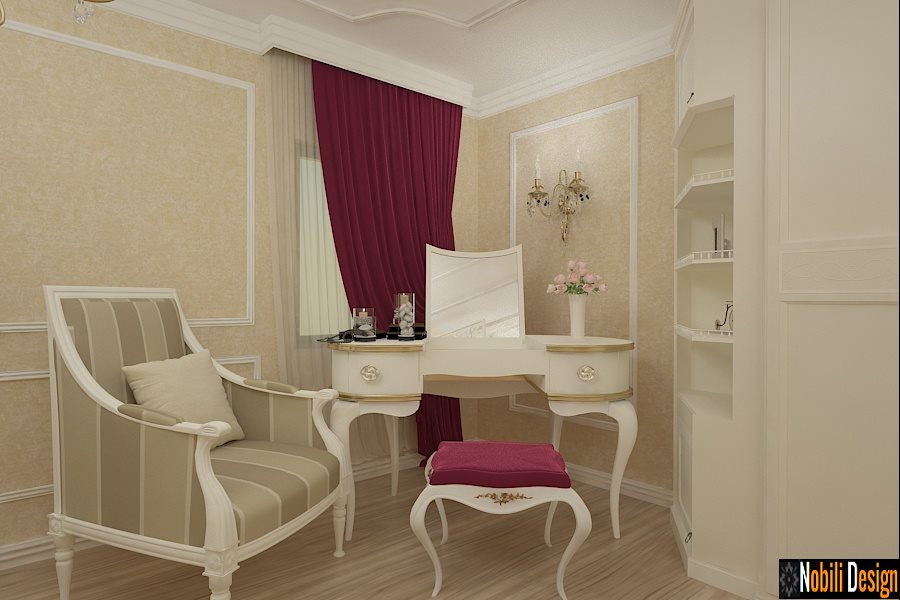 Design interior mobila living clasic