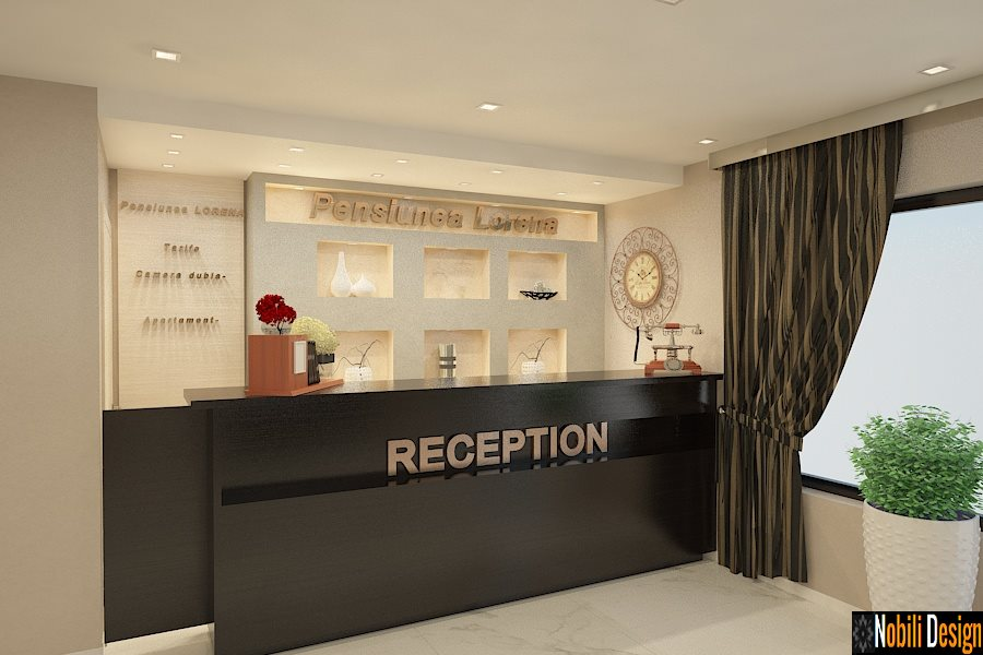 design interior receptie pensiune Constanta