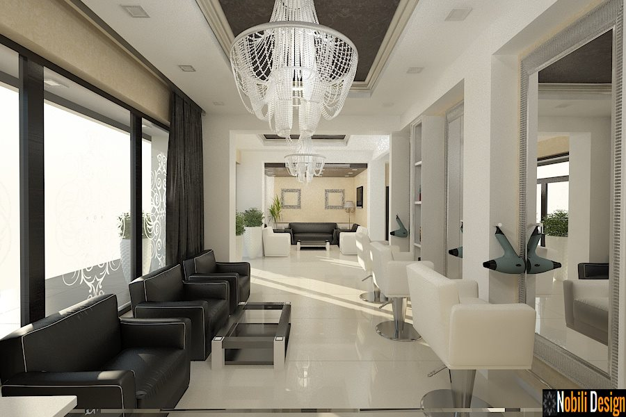 design interior salon de infrumusetare Pitesti