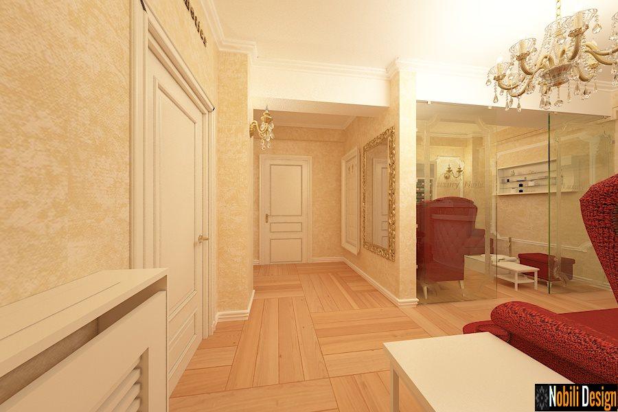 Design - interior - salon - infrumusetare - Bucuresti; Design - interior - coafor - clasic - Bucuresti