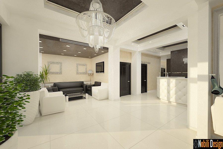 design interior salon infrumusetare de lux Bucuresti