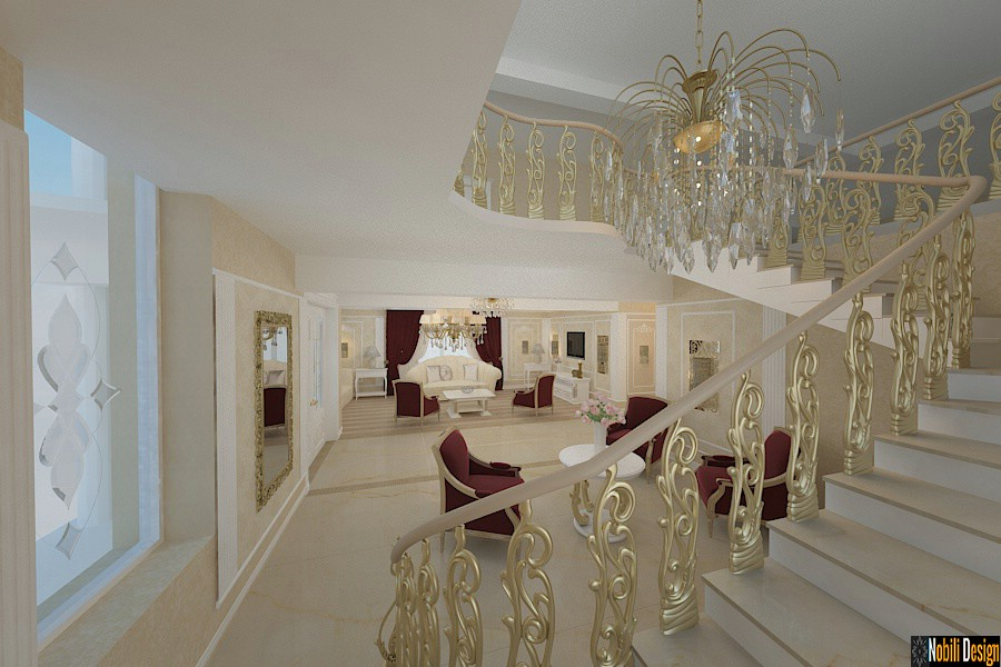Design - interior - scari - interioare - casa - clasica - ialomita.