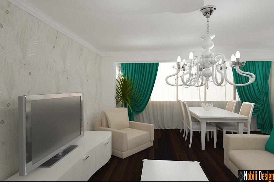 Design interioare case tapet decorativ - Design interior apartamente ...