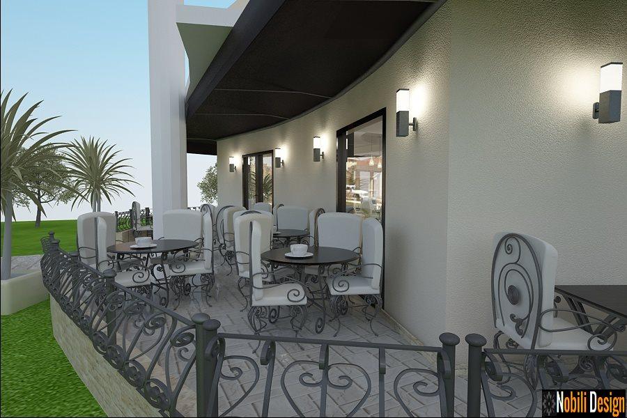 Design - interior - terasa - cafenea - Bucuresti