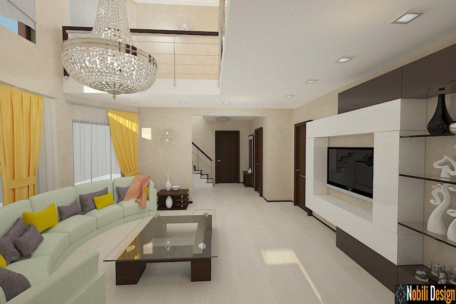 Design interior vila casa moderna bucuresti for Interioare case moderne