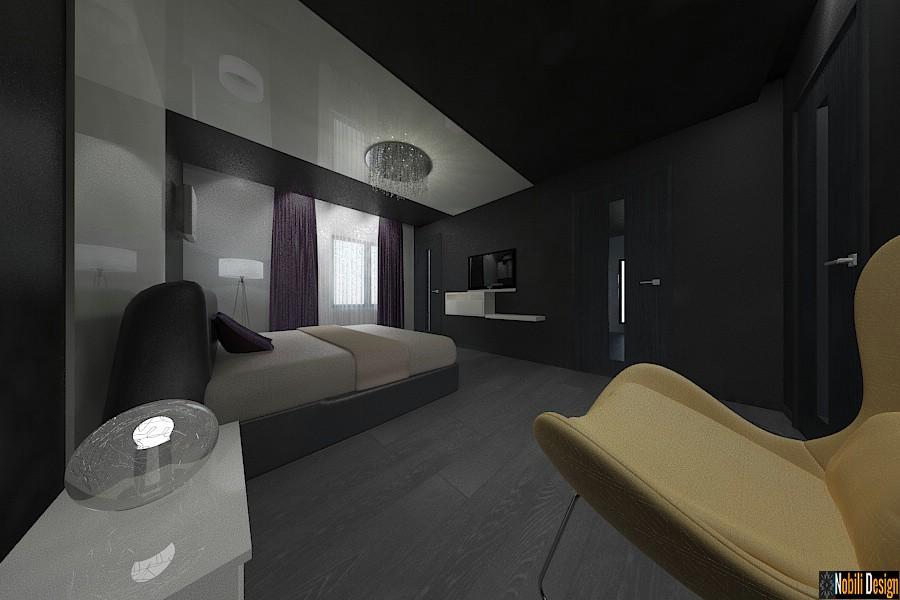 Design - interior - dormitor - vila - moderna - in - bucuresti| Amenajari - interioare - dormitoare - case - moderne - Bucuresti.