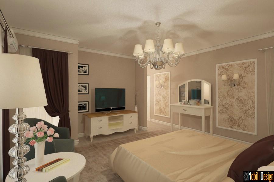 iç tasarım klasik lüks yatak odası sabiti   İç tasarım evleri Köstence.