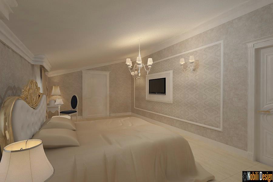 design interior dormitor mansarda constanta | Amenajari interioare case cu mansarda pret.