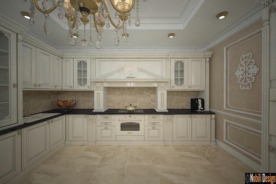 Design interior bucatarie casa Craiova | Amenajare casa de lux Craiova pret.