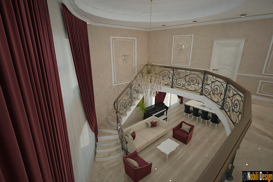 Interior design classic houses Constanta.