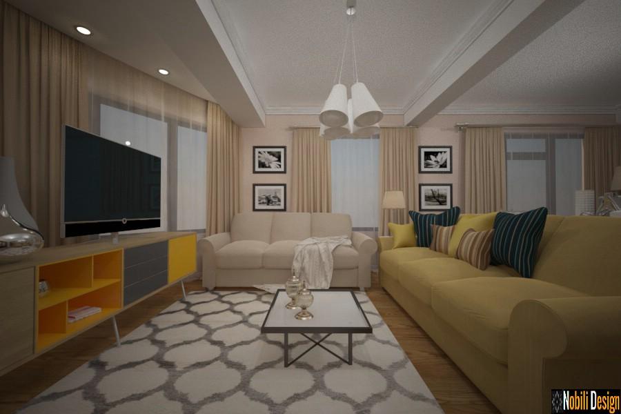 Interior de la casa moderna de constanta.