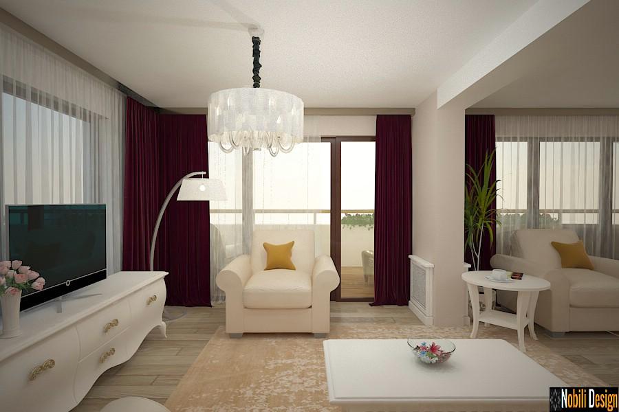 design interior living casa de lux pitesti arges | Firma amenajari interioare Arges.