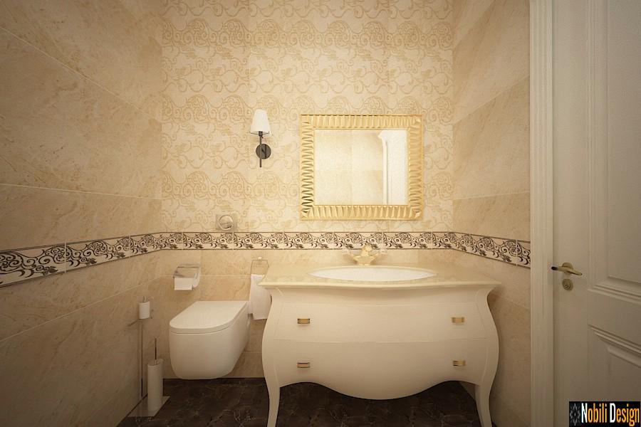 design interior baie casa clasica de Lux Bucov Prahova.