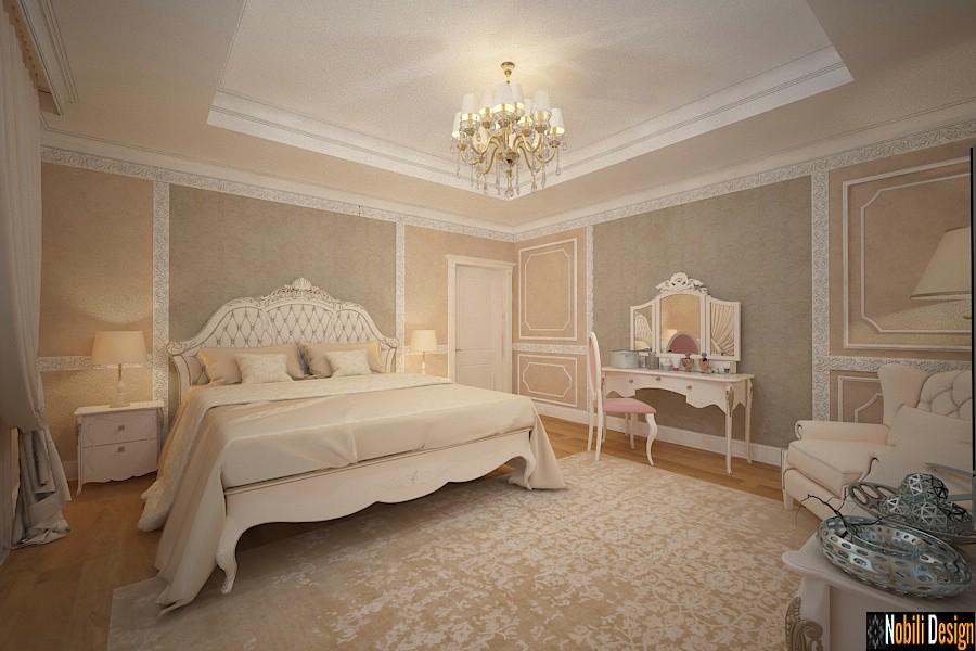 design interior casa clasica Dormitor Matrimonial prahova | Firma de design interior Ploiesti.