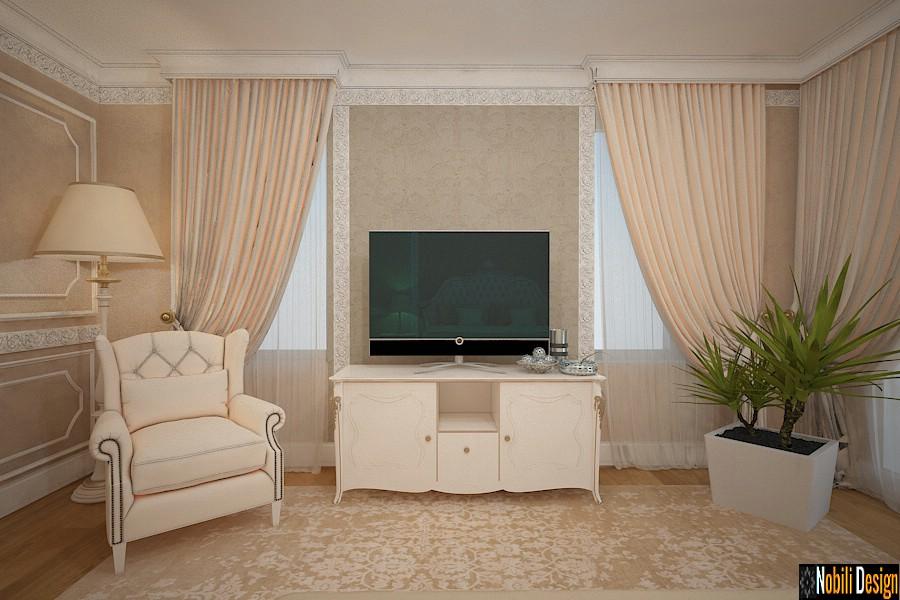 design interior dormitor casa clasica bucov | Amenajare interioara casa clasica cu etaj Prahova.