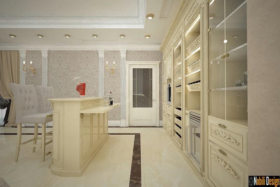 design interior zona bar casa clasica de lux prahova | Birou arhitectura si design Ploiesti.