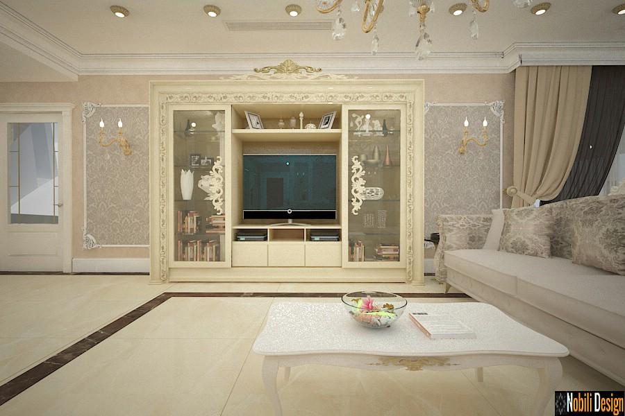 proiect amenajare living casa clasica cu mansarda Prahova | Firma amenajari interioare Ploiesti.