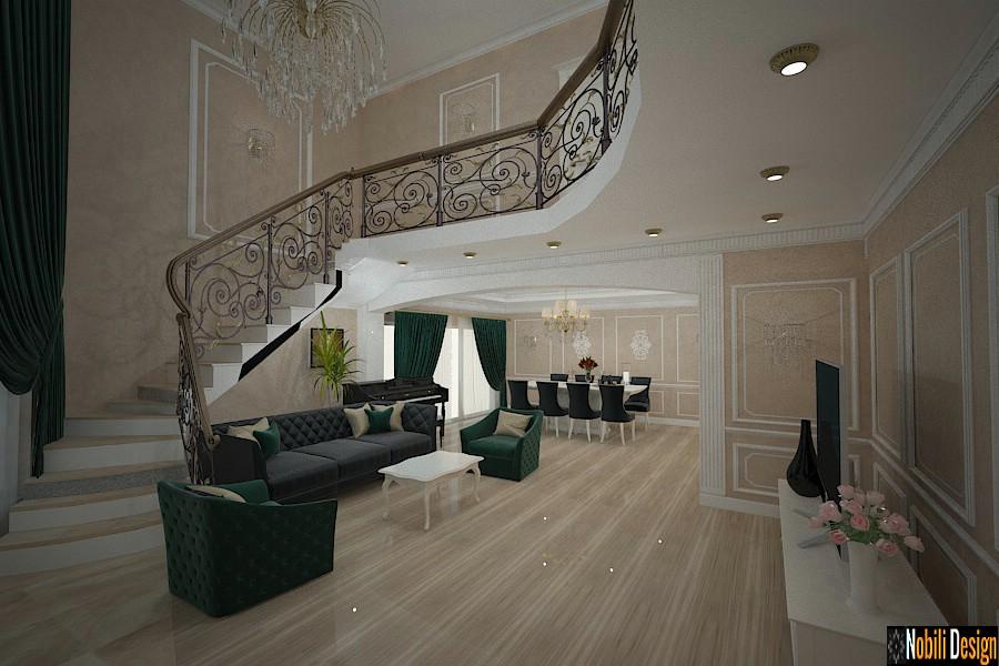 Design interior casa clasica cu etaj ploiesti nobili for Case interior design