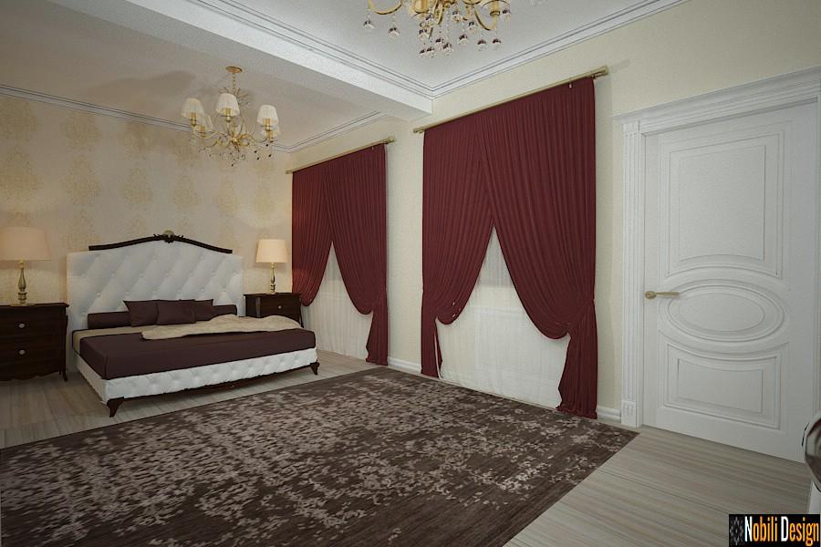 design interior dormitor casa clasica pitesti arges