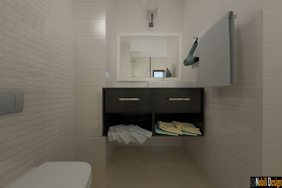interior design bathroom hotel |  Architect Constanta price.
