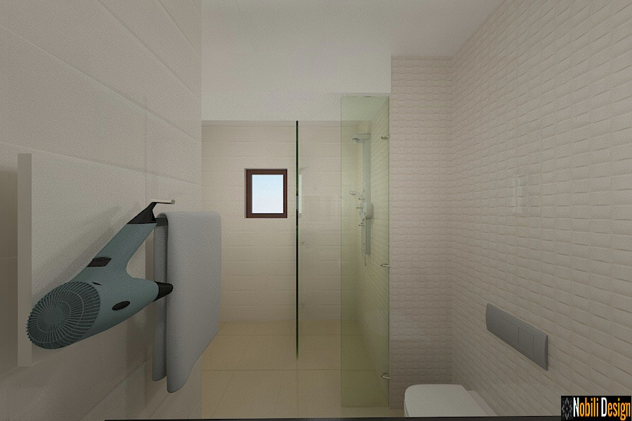 interior design modern bathroom |  Interior design firm in Constanta.