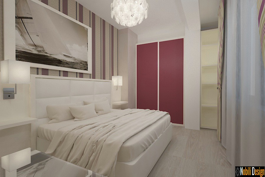 interior design modern bedroom |  Interior design offices in Constanta.
