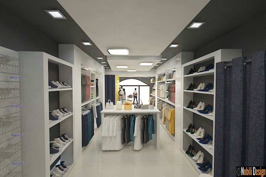Design interior magazin shop in Bucuresti