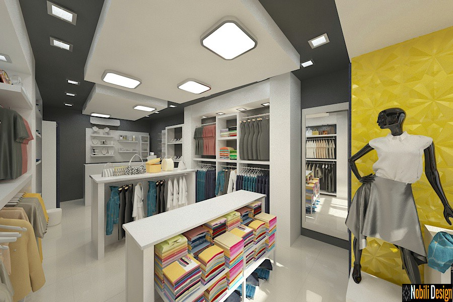 design interior magazin haine | Birou de design interior in Bucuresti.