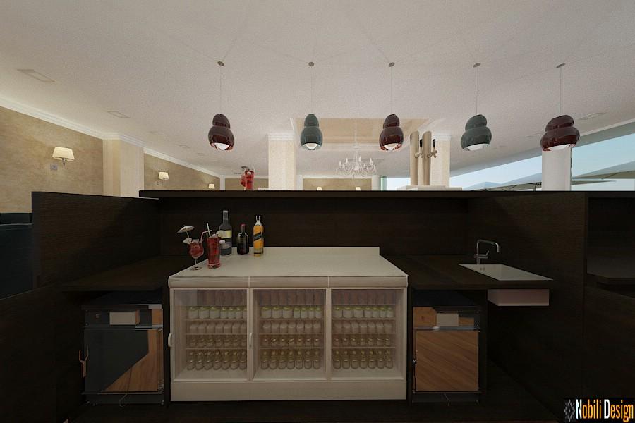 amenajare interioara bar | Servicii arhitectura in Constanta.