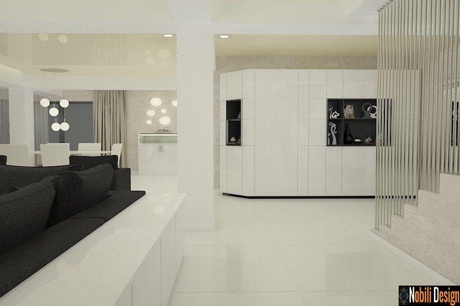 Amenajare interioara casa moderna bucuresti for Interioare case moderne