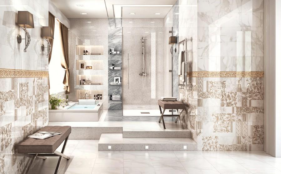 Design - interior - baie - gresie - faianta - portelanata - Inspire - Constanta - Bucuresti.