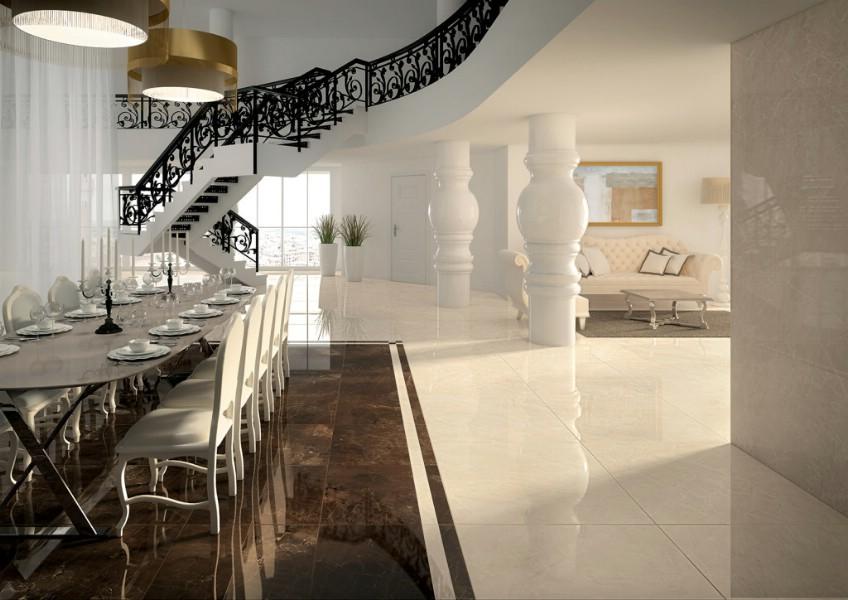Gresie - interior - italia - aspect - marmura - mirage.