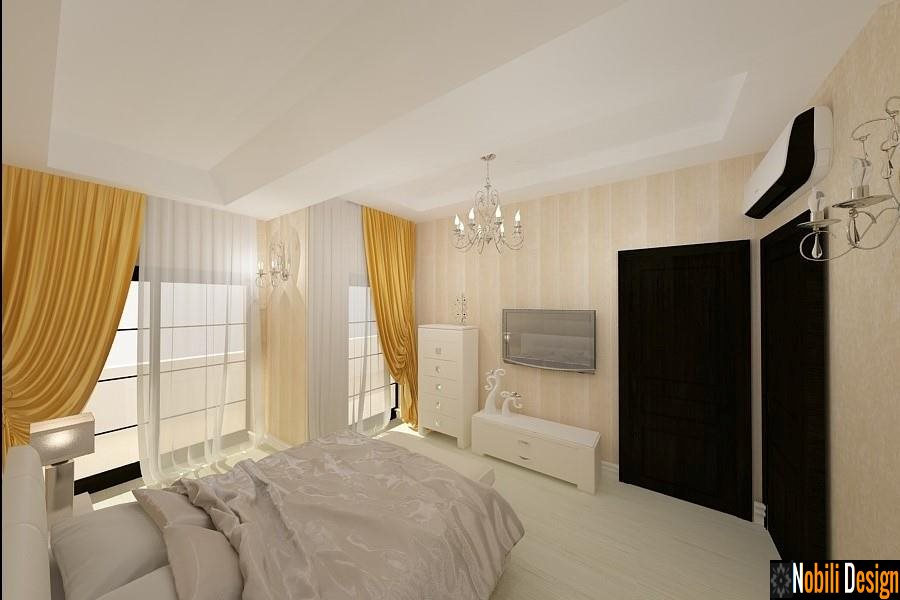 Interior design - modern villa bedroom