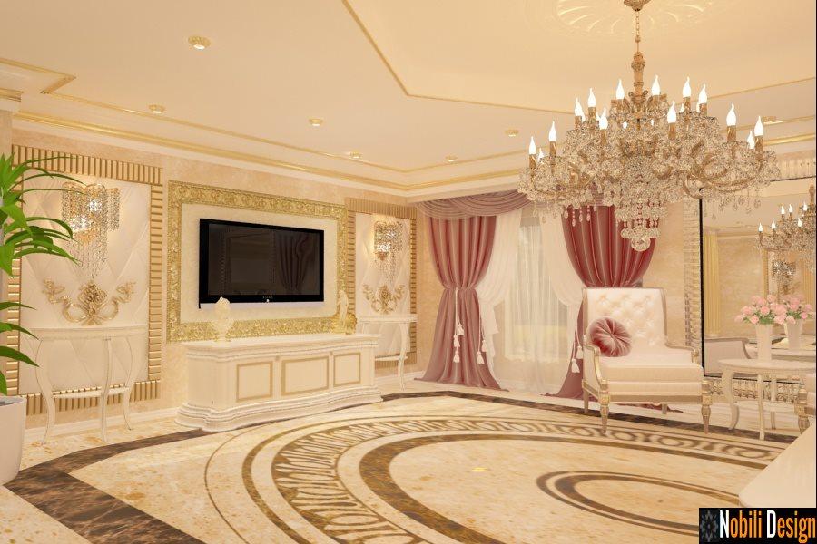 Design classico del soggiorno