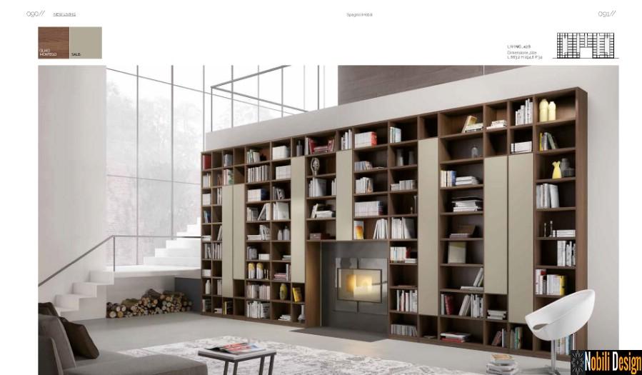 mobila biblioteca living sufragerie moderna Constanta