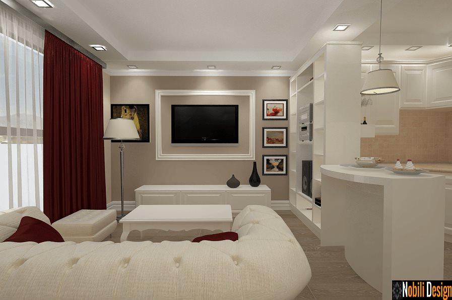 Mobila living la comanda stil clasic for Dizain case interior