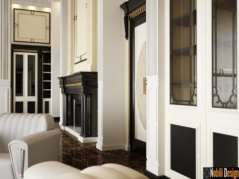 mobila italiana de lux boaserie clasica lemn