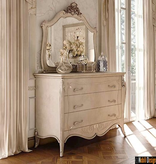 mobila living dormitor comoda clasica italia opera fp 3052 crem | Mobila - living - italia - Bucuresti.