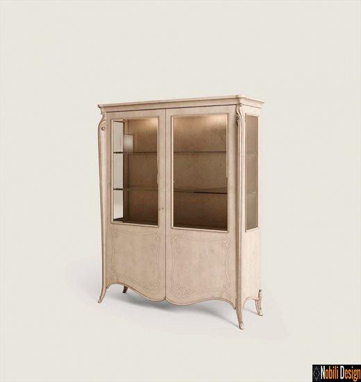 mobila living dormitor vitrina clasica italia opera fp 3007 antic | Mobila - clasica - Bucuresti.