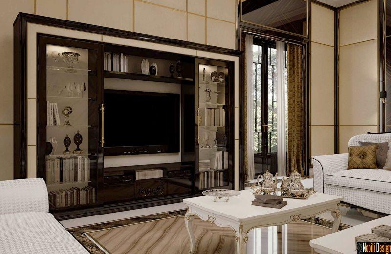 mobila living dormitor vitrina clasica italia opera fp 3034 geb maro | Mobila - vitrina - living - italiana - Bucuresti.