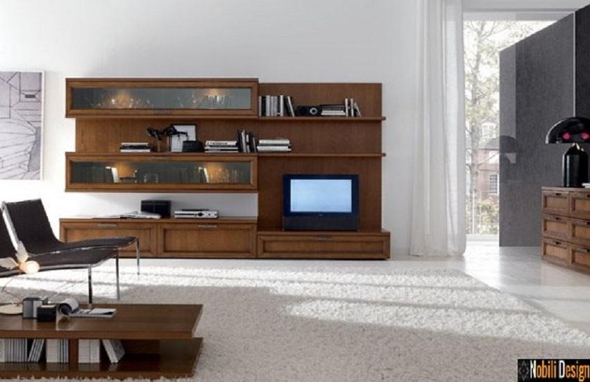 mobila living italia clasica moderna santa rosa Vogue lemn natur