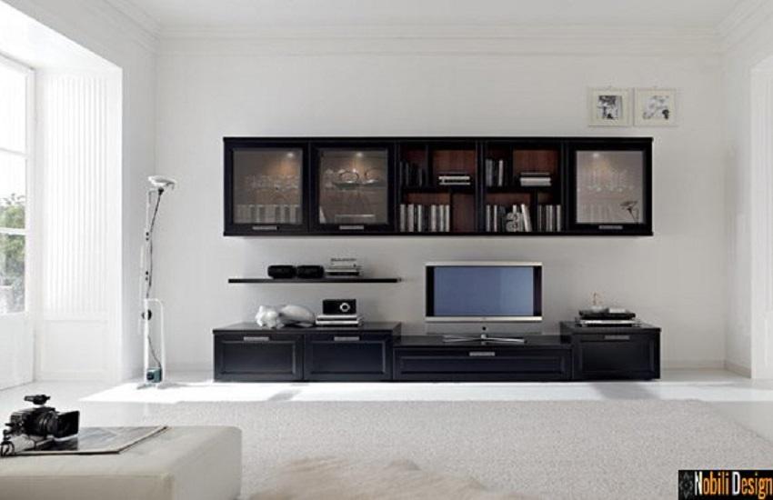 mobila living italia santa rosa Vogue neagra