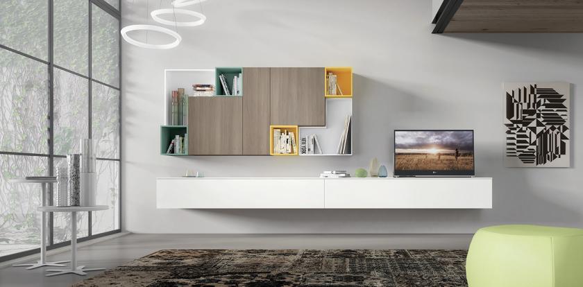Mobila - living - moderna - Italia - spagnol - 415.