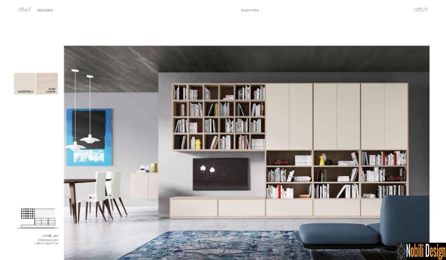 mobila living sufragerie moderna Italia